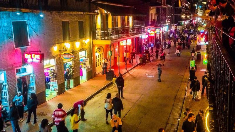 Limo Rental Bourbon Street New Orleans